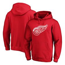 Detroit Red Wings Hoodie (Size 2XL) Men's NHL Primary Team Logo Hoodie - New