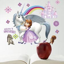 Disney Sophia Princess Wall Sticker Girl Room Decor Cartoon for Kids Bedroom Diy