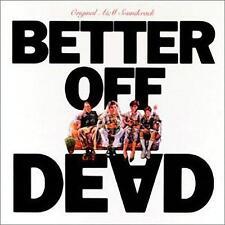 BETTER OFF DEAD: ORIGINAL MOTION PICTURE SOUNDTRACK – CD, RUPERT HINE, RARE!!!