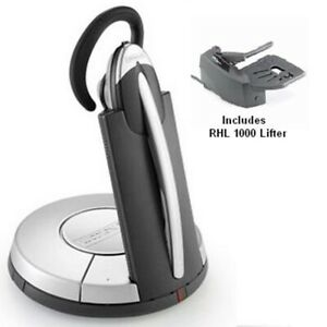 GN Netcom GN9350 Wireless Headset c/w GN1000 Remote Handset LIfter