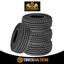 (4) New Lionhart Lionclaw HT P235/65R17 103T All Season Performance Tires