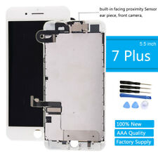 For iPhone 7 Plus LCD Screen White Replacement Display Touch Digitizer Earpiece
