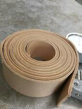 "Leather Strip Natural Veg Tanned 7/8 Oz 1-1/2 Wide 12 24 36 48 60 72 84"" in Long"