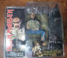 Iron Maiden Piece of Mind EDDIE Figure 2005 NECA Global NEW Sealed Horror Rare
