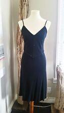 GIORGIO ARMANI BLACK DRESS - sequin detail - size 42