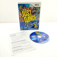 Just Dance: Disney Party 2 - Nintendo Wii / Wii U Tested & Working