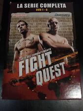 FIGHT QUEST DVD SERIE COMPLETA ( Vol.1-6) ITALIANO DISCOVERY COME NUOVI