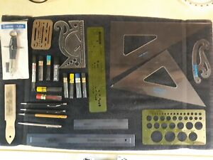 Staedtler Drafting Supplies and Drawing Lead Pencils Lot