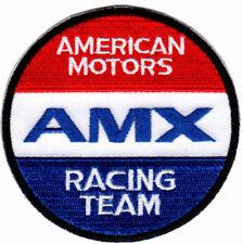 AMX RACING TEAM AMC AMERICAN MOTORS CORPORATION IRON ON PATCH rambler javelin