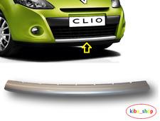 Renault Clio III mk3 2009-2012 Pare Choc Avant Inférieur Calandre Moulage Bordure Argent