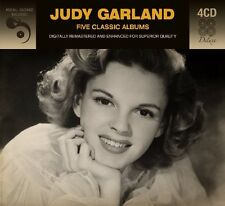 Judy Garland FIVE (5) CLASSIC ALBUMS At Carnegie Hall A STAR IS BORN New 4 CD