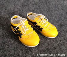 1/6 scale Bruce Lee Game of dead Red Sneaker Yellow shoes Enterbay