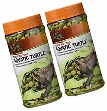 Zilla Reptile Food Aquatic Turtle Fortified, 6-Ounce 6-Ounce (2 Pack)