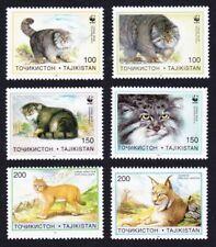 Tajikistan WWF Pallas's Cat 6v MNH SG#90-95 MI#94-99 SC#92-97