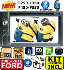 2005-2016 FORD F250/350/450/550 TOUCHSCREEN CD DVD USB BLUETOOTH Radio Stereo