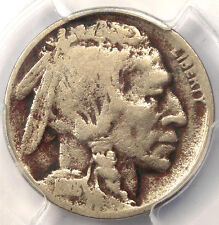 1918/7-D Buffalo Nickel 5C - PCGS VG Details - Rare Overdate Variety Coin