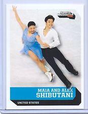 """MAIA & ALEX SHIBUTANI 2016 SPORTS ILLUSTRATED ICE FIGURE SKATING CARD"""" 1 of 9!!!"""