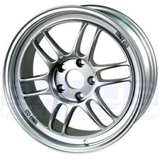 "ENKEI RPF1 Wheel 17x9"" 5x100 35mm Offset SILVER Single Rim for Subaru WRX BRZ"