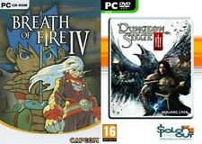 breath of fire iv & dungeon siege 3  NEW&SEALED