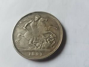 1891 victoria crown contemporary forgery 24 grams