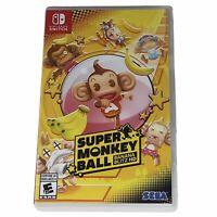 Super Monkey Ball Banana Blitz HD Nintendo Switch Brand New Plastic Removed