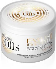 Amazing Oils Cocoa Body Butter, for Dry skin with Macadamia oil, Avocado oil