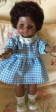 "African American Effanbee Girl Doll 13"" 1967"