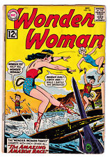 WONDER WOMAN 133 (1962) Wonder Girl, Amazon Race; VG- 3.5