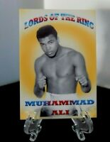 2005 Muhammad Ali Lords of the Ring promo card Rare!! 1 of 30 made!!