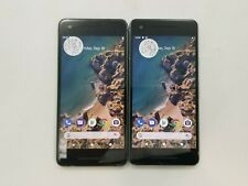 Lot of 2 Google Pixel 2 G011A Unlocked Check Imei Poor Condition Rj-575