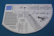 Schön Schablone Typ 2 für Plattenspieler ,Tonarm -Tonabnehmer Einstellungen  NEU