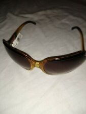 LIZ & CO. CLAIBORNE Sunglasses BROWN/YELLOW FRAME W/ BROWN LENSES -NWT