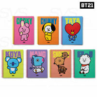 BTS BT21 OfficiaI Authentic Goods A5 Spring Notebook HEART Ver + Tracking Number