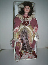 """Duck House """"Janette"""" Doll, Porcelain, Victorian, 19"""", New In box"""