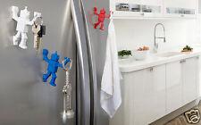 WHITE ROBOHOOK Magnetic Hanger Kitchen Ofiice Home Funky Gift By Peleg Design