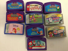 Leapfrog Leapster Learning Games Reading Writing Numbers Music Science Lot Of 10