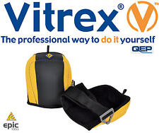 VITREX 338160 Work Contractor Tiling Comfort Padded Flooring Knee Pads