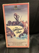The Golden Voyage Of Sinbad Vhs Rare Adventure  Action We Combine Shipping Video