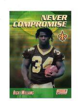 RICKY WILLIAMS 1999 Stadium Club Chrome Never Compromise Refractor #NC5 NM/MT