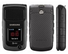 LN Samsung Rugby 2 II A847 Black (AT&T) GSM SIM Card Cellular Phone No Data Plan
