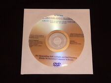 DELL Precision M2300 M4300 M6300 Vista DRIVERS DVD CD Disc