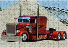 Peterbilt Truck 02 A4 JIGSAW Puzzle Birthday Christmas (Can Be Personalised)