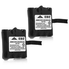 2x 700mAh Two Way Radio FRS Battery for Midland BATT6R BATT-6R LXT276/345/480