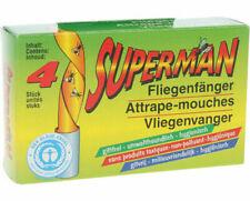 Superman Papier Tue-Mouches Piège à Colle Voler Killer Rouleau Insectes Catcher