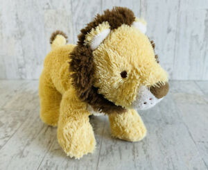 "Carters Lion Plush Gold Yellow Baby Toy Stuffed Animal 2017 10"" Jungle Cat"
