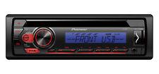 Pioneer Autoradio DEH-S110UBB USB+AUX rosso blu