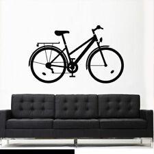 Wall Vinyl Sticker Bedroom Decal Bike Sport Bicycle Cycle (Z2765)