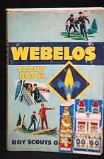 Old Vintage Historical BSA Boy Scouts of America Book 1969 Webelos Handbook
