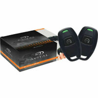 Avital 4115L 1-Way Remote Start System w/ TWO 1 Button RemoteS
