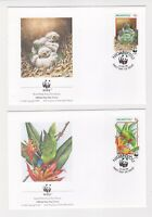 1998 Niuafoou WWF Endangered Species SG 270/3 Set four FDC or Fine Used